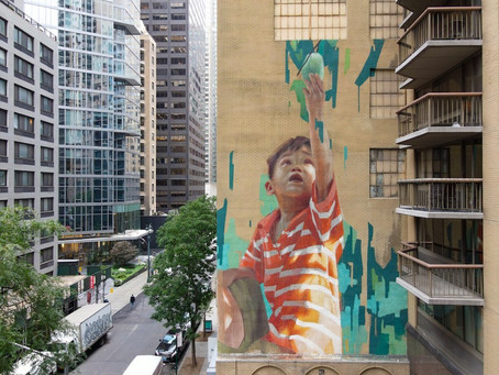 UN, Kashi mural project in New York calls for zero hunger by 2030