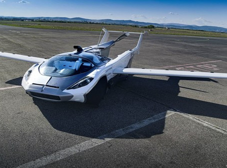 AirCar, the flying car, passes flight tests
