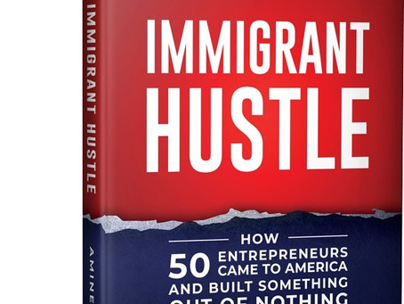 'Immigrant Hustle' book tells stories of 50 successful entrepreneurs in US
