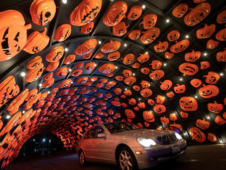 All dressed up but nowhere to ghost?In LA, there's a Hauntoween drive-thru adventure