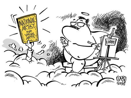 Remembering 'Slice of Life' cartoonist Larry Alcala
