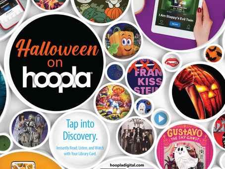 hoopla app offers Halloween-themed movies, music, games for all ages