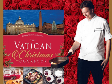 Chef and former Swiss Guard David Geisser releases 'Vatican Christmas Cookbook'