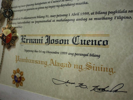 Remembering National Artist and 'Inang Bayan' composer Ernani Cuenco