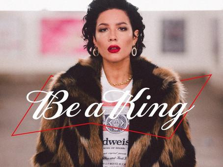 Singer, social activist Halsey inspires 'Be a King' global campaign