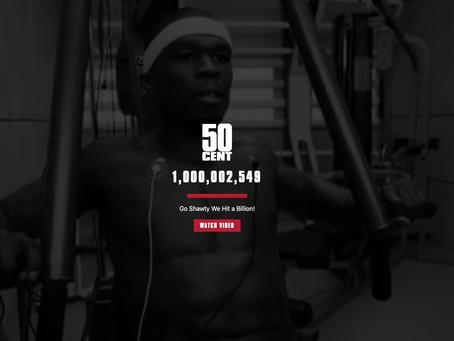 50 Cent's 'In Da Club' reaches 1B views on YouTube
