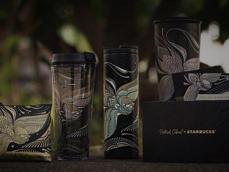Filipino artist Patrick Cabral designs Sarimanok-inspired mugs for Starbucks