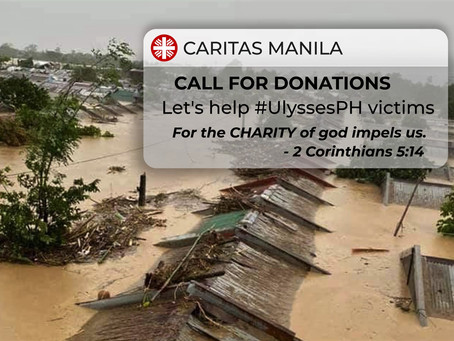 Caritas Manila calls for donations for PH typhoon victims