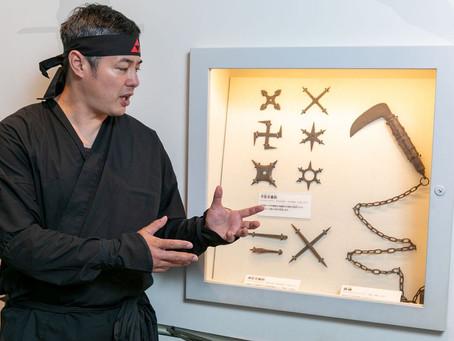 Get online 'ninja' training with Ninjutsu Sensei from Odawara, Japan