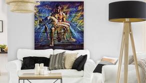 Artist Claudio Fiori creates online store