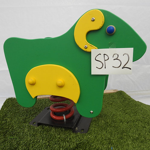 Green Sheep Spring Rocker