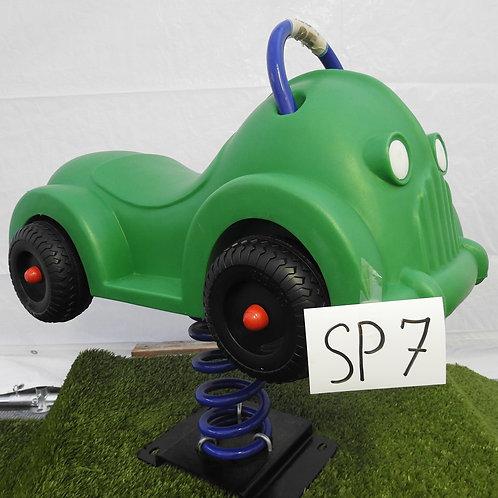 Green Car Spring Rocker
