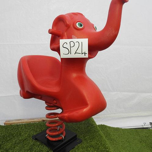 Red Elephant Spring Rocker