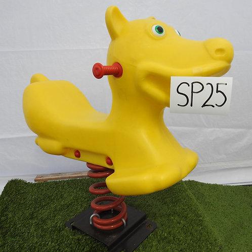 Yellow Dog Spring Rocker