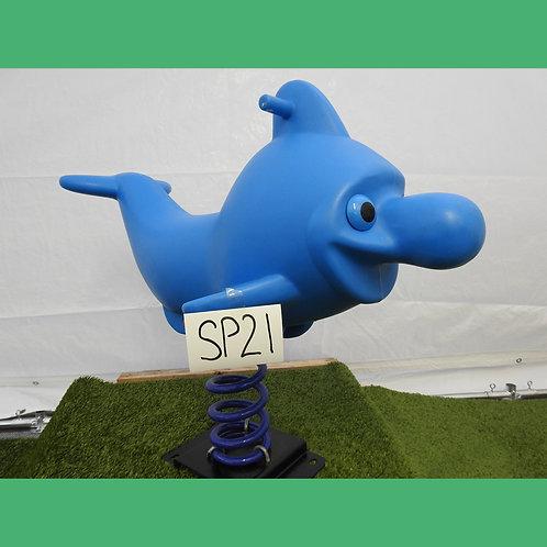 Blue Dolphin Spring Rocker