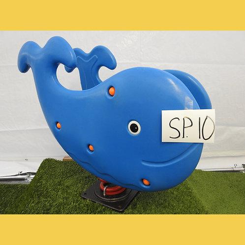 Blue Whale Spring Rocker