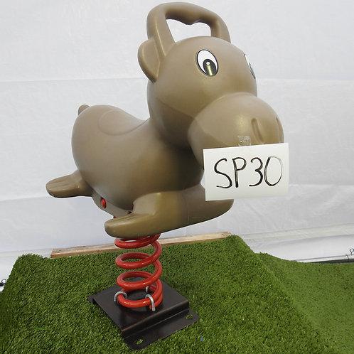 Brown Donkey Spring Rocker