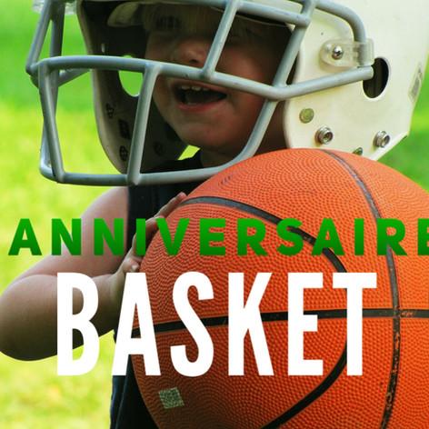 anniversaire enfant basket