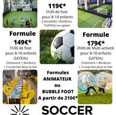 formules anniversaires soccer mougins