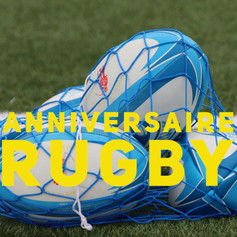 anniversaire rugby