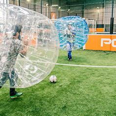 anniversaire enfant bubble foot soccer mougins