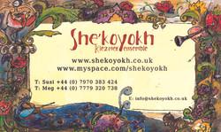 She'koyokh Visit Card