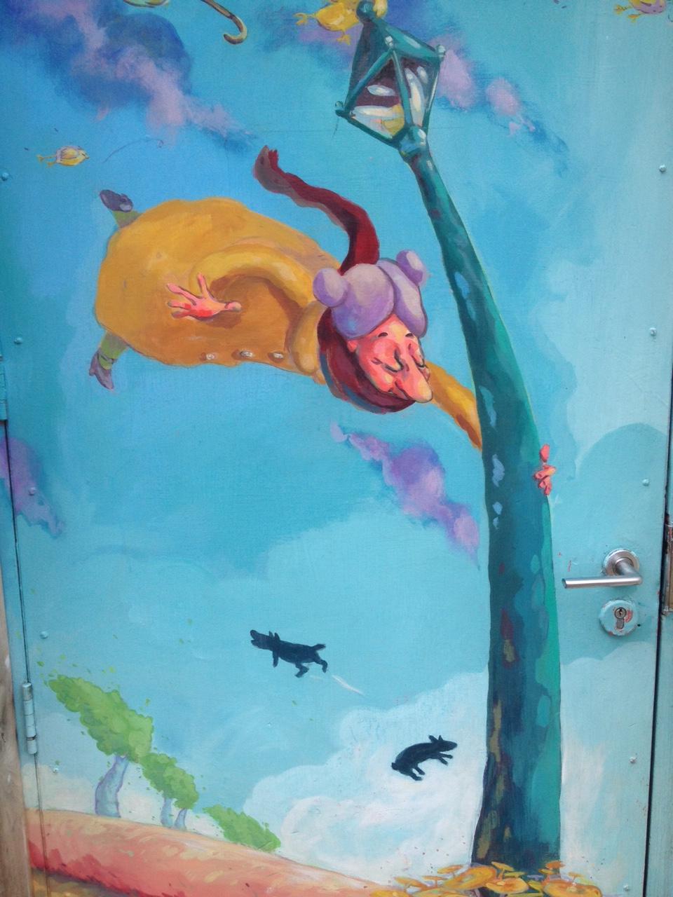 Pistachios Cafe Mural