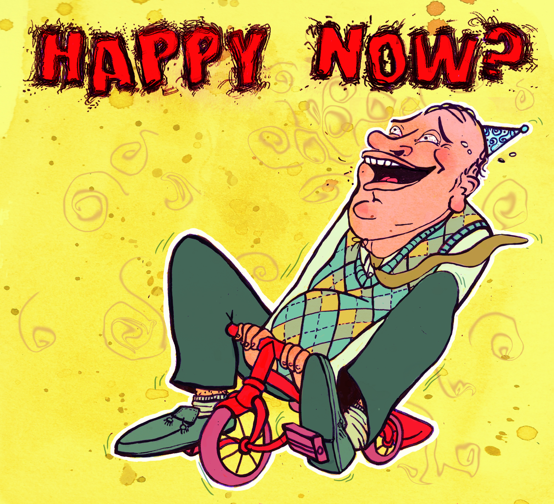Happy Now? Cd Cover