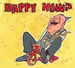 Happy Now? Cd Cover