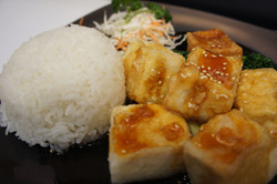 Teriyaki-Tofu