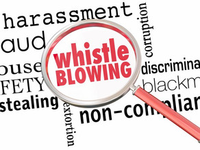 Can you spot whistleblowing?