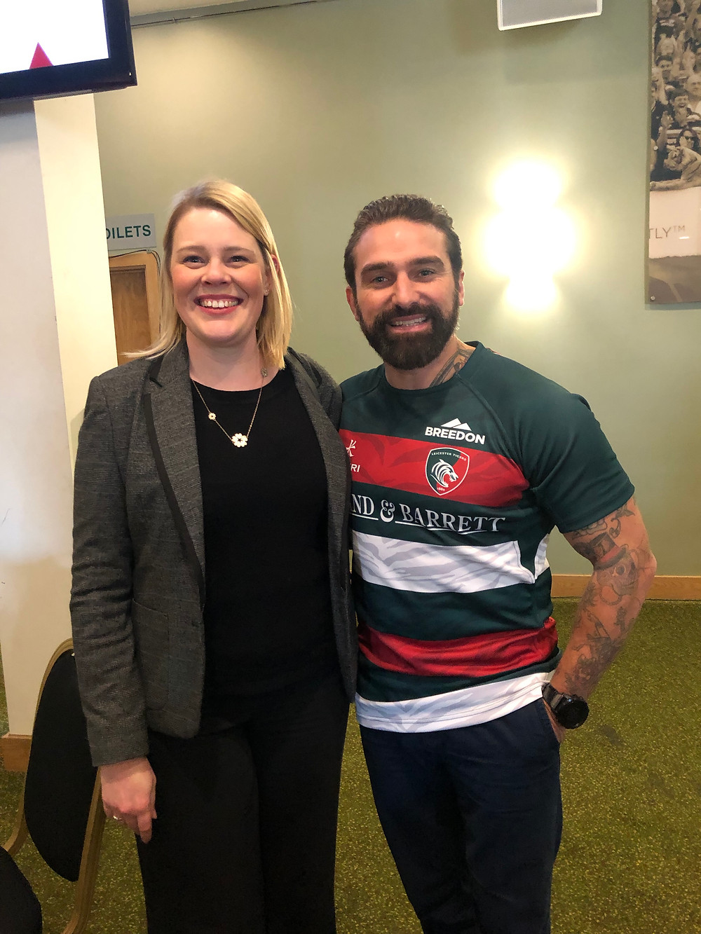 Cheryl Willey & Ant Middleton of SAS: Who Dares Wins