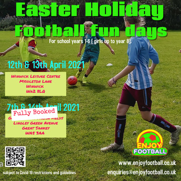 7th & 14th April fun days are now fully booked