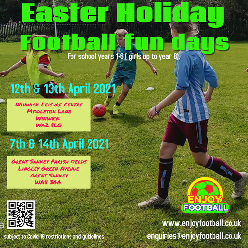 Easter Holiday Fun days - an additional date