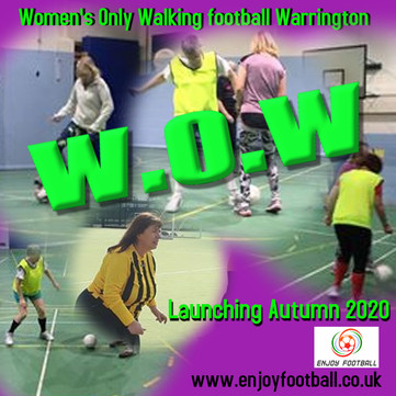 Cat 2 - now out of the bag - W.O.W ( Women's only Walking Football)