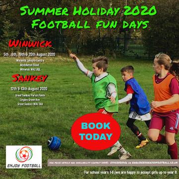 Summer Holiday Football Fun days - Part 2