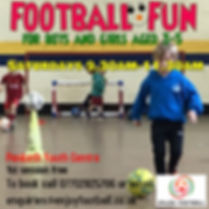 football fun saturday - Made with Poster