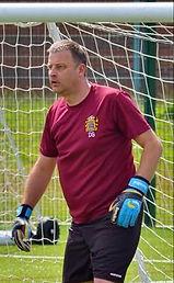 Dave Smith playing walking football