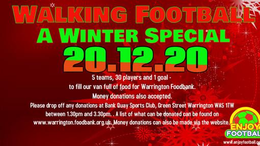 Walking Football, a Winter special