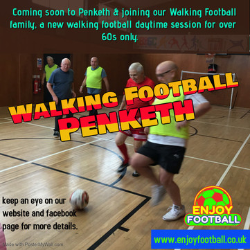And the 3rd and last cat - Over 60s Walking Football Penketh