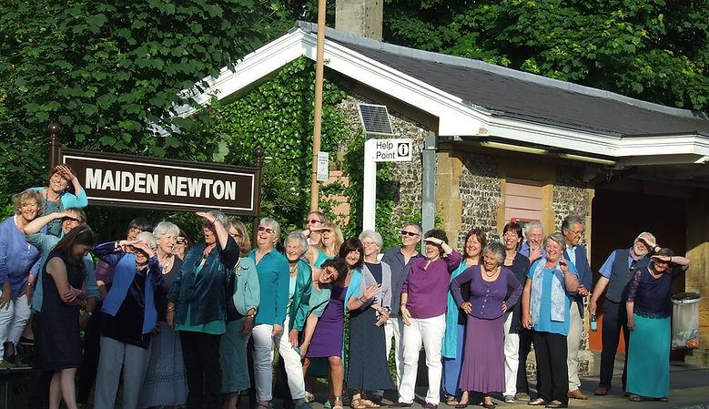 maiden newton platform publicity photo.J