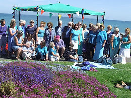 The Quangle Wangle Choir at Greenhill Gardens Weymouth