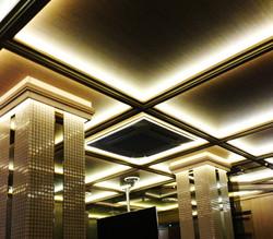 SKYDI потолок ресторан