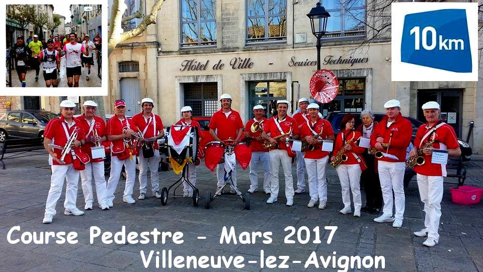 Course pedestre de Villeneuve lez avignon 11 mars 2017