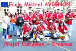 PROJET EUROPEEN ecole mistral