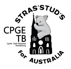 logo STRAS'STUD'S FOR AUSTRALIA CPGE TB.