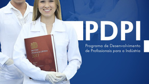 PDPI PREPARA PROFISSIONAIS PARA ENTRAR NA INDÚSTRIA FARMACÊUTICA