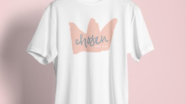 Chosen T-shirt - Front