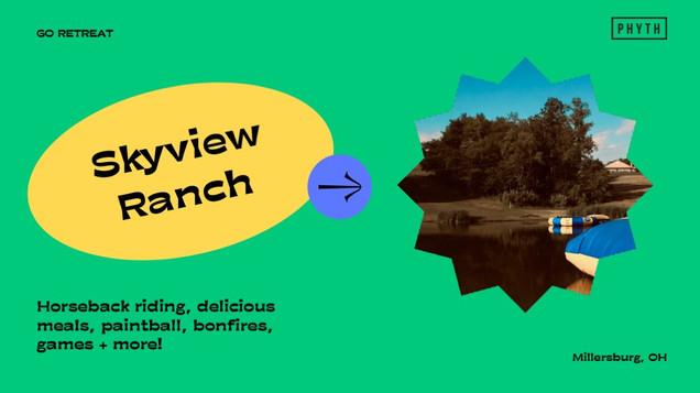 GO RETREAT - SkyView Ranch