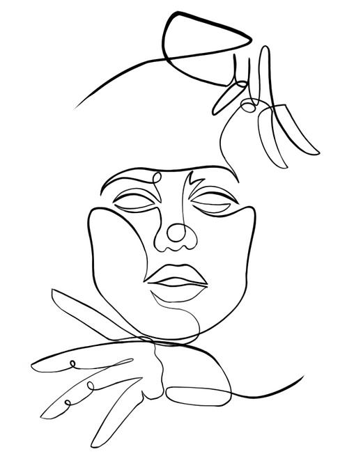 String Face
